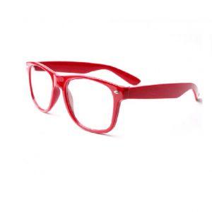 Червена рамка очила