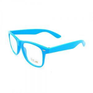Очила със сини рамки