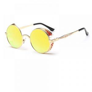 Кръгли очила огледални с орнаменти