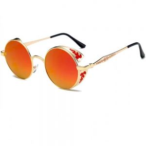 Червени очила огледални