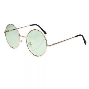 Кръгли очила зелени стъкла