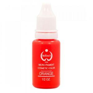 Перманентен грим оранжева боя
