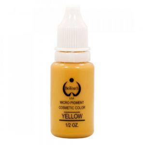 Перманентен грим жълта боя