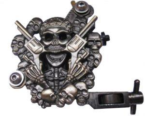 Машина за татуировки Димящ череп
