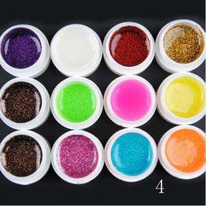 12 броя цветни гелове