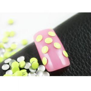 Флуорестцентчета за нокти в жълти
