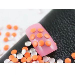 Флуорестцентчета за нокти в оранжево