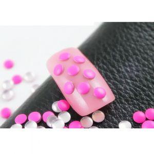 Флуорестцентчета за нокти в розово