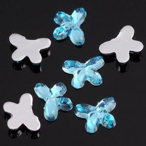 Сини пеперудки за нокти