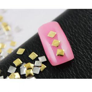 Златни квадратчета за маникюр 100 броя
