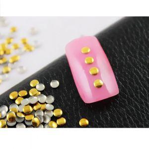 Златни кръгчета за нокти