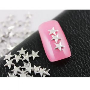 Метални звезди за нокти