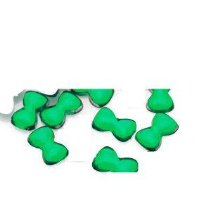 Кристални панделки в зелено