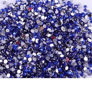 Камъчета за маникюр Наситено синьо