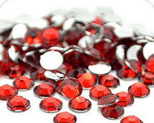 Камъчета за нокти червени