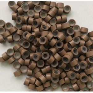 Светло кафеви пръстени - 4,5 мм