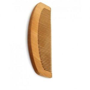 Антистатичен дървен гребен