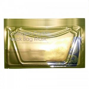 Колагенова маска за шия в златно