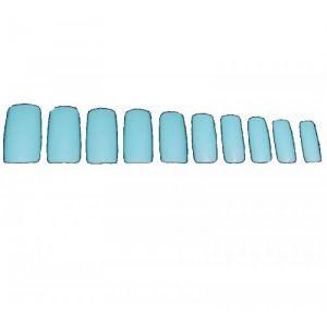 Изкуствени нокти в синьо