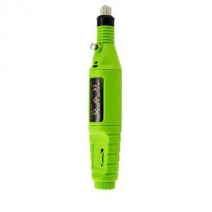 Електрическа пила за нокти в зелено
