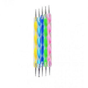 Инструменти за декорация с точки при маникюр
