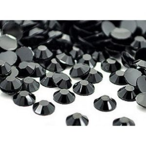 Камъчета за арт нокти черни