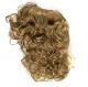 Тъмно руса къдрава обемна изкуствена коса на шнола